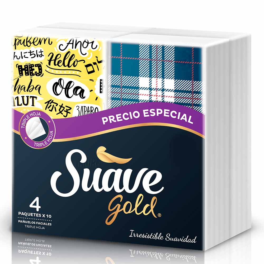 Faciales Suave Gold Pocket